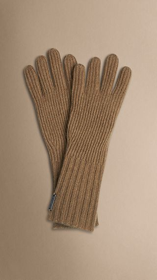 Cashmere Blend Touch Screen Gloves