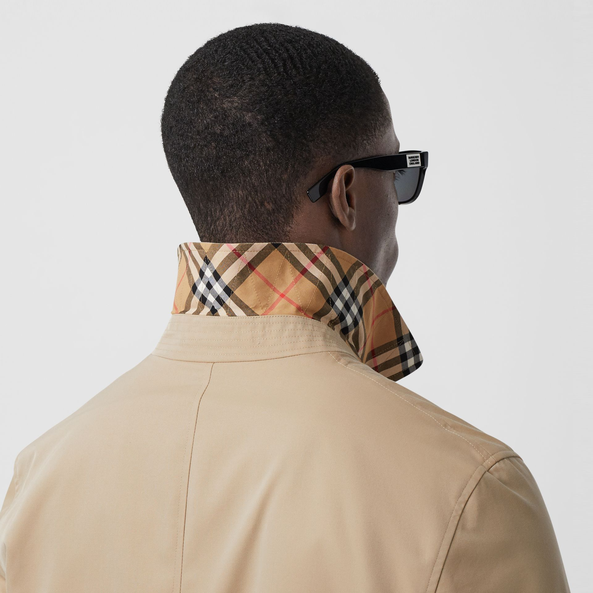 The Pimlico Heritage Car Coat in Honey - Men | Burberry - gallery image 4