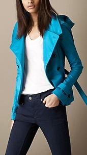 Sateen Belted Jacket