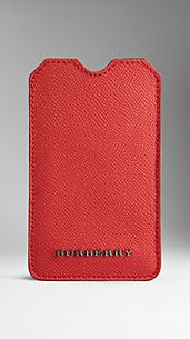 Colour Coated London Leather iPhone 5 Case