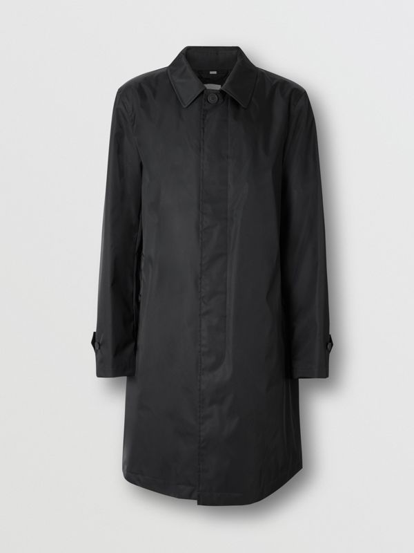 Technical Twill Car Coat in Black - Men | Burberry - cell image 3