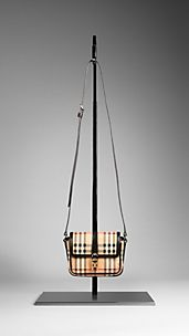 Haymarket Check Crossbody Bag