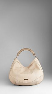 Python Leather Hobo Bag