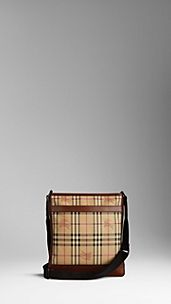Vintage Haymarket Check Messenger Bag