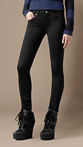 Ankle Zip Skinny Fit Trousers
