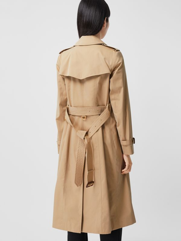 The Long Chelsea Heritage Trench Coat in Honey - Women | Burberry United States - cell image 2