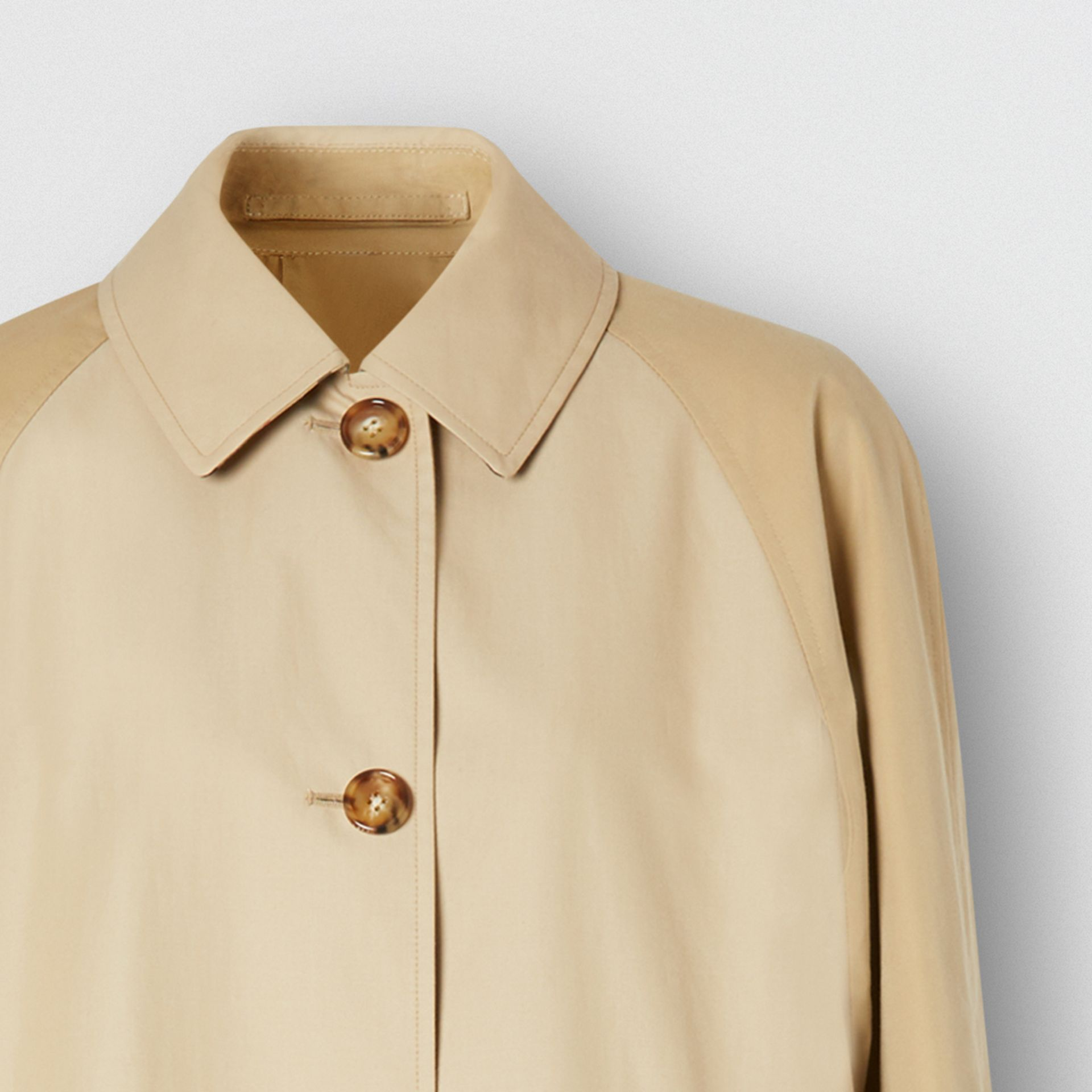Two-tone Reconstructed Car Coat - Women | Burberry - gallery image 8