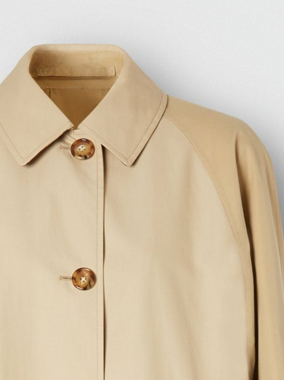 Two-tone Reconstructed Car Coat | Burberry United Kingdom - cell image 1