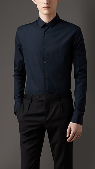 Slim Fit Cotton Shirt