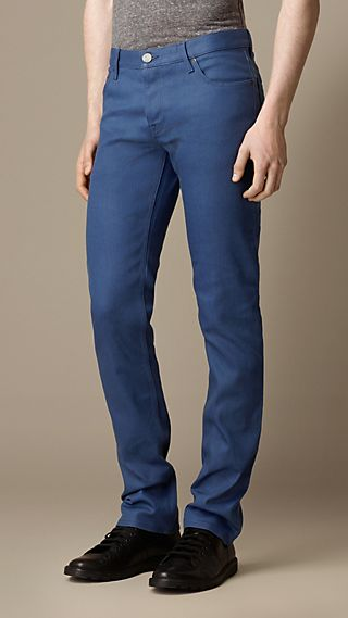 Steadman Resinated Slim Fit Jeans