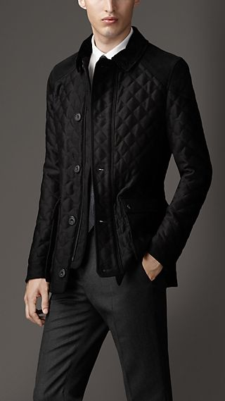 Quilted Cashmere Field Jacket
