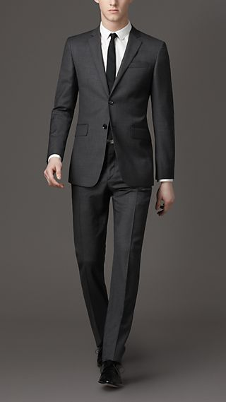 Modern Fit Prince Of Wales Check Suit