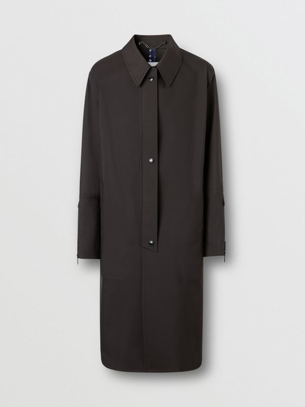 Logo Appliqué Bonded Nylon Car Coat - Men | Burberry - cell image 3