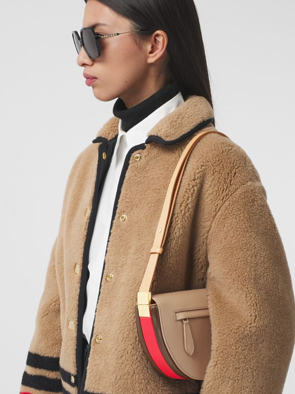 Small Leather Olympia Bag in Camel - Women | Burberry - cell image 2