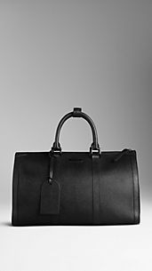 Medium London Leather Holdall