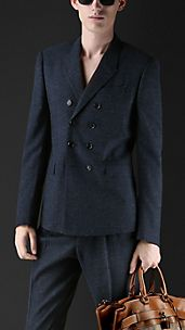 Double-Breasted Tailored Jacket