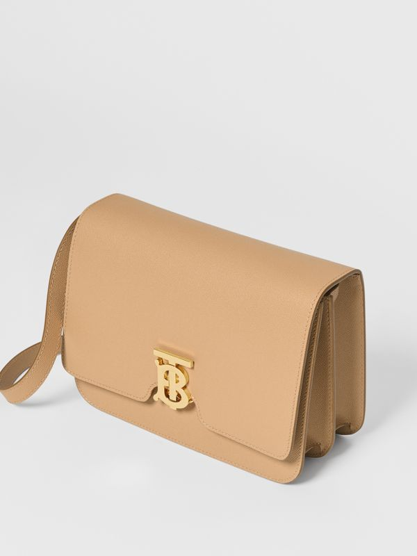 Medium Grainy Leather TB Bag in Archive Beige - Women | Burberry Canada - cell image 3