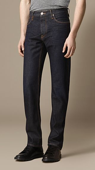 Swaine Hand-Sanded Tapered Fit Jeans