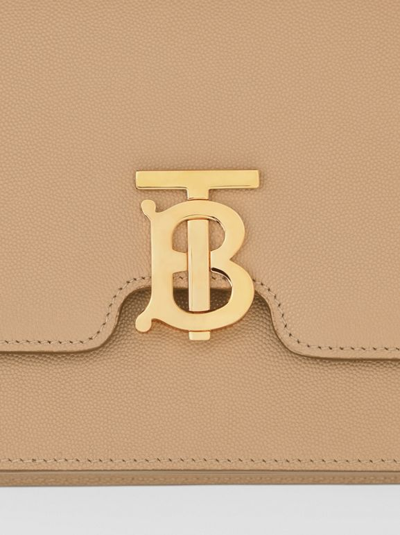 Medium Grainy Leather TB Bag in Archive Beige - Women | Burberry Canada - cell image 1