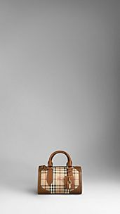 Small Haymarket Check Bowling Bag