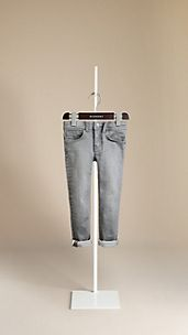 Langley Vintage Grey Skinny Fit Jeans