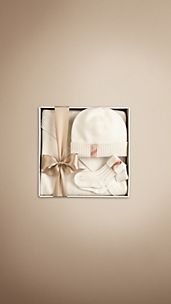 Set regalo in cashmere per neonato