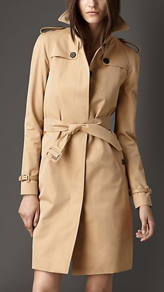 Cotton Gabardine Warmer Trench Coat