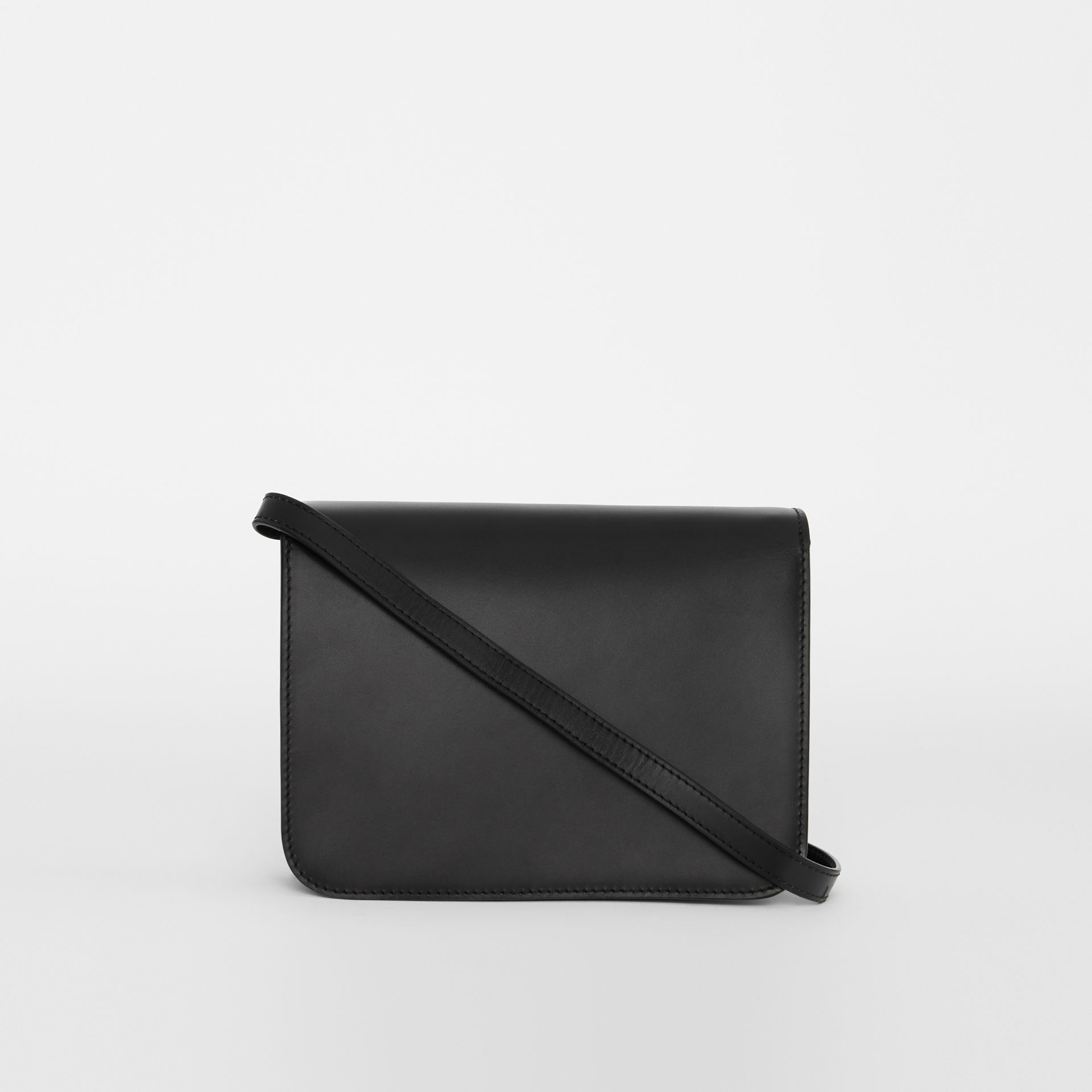 Small Leather TB Bag in Black - Women | Burberry - gallery image 7