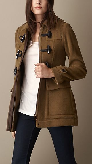 Military Detail Duffle Coat