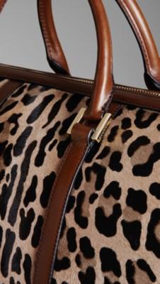 动物斑点波士顿手提袋