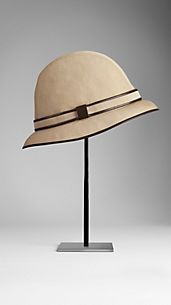 Cotton Gabardine Bucket Hat