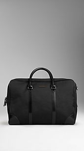 Large Cotton Gabardine Holdall