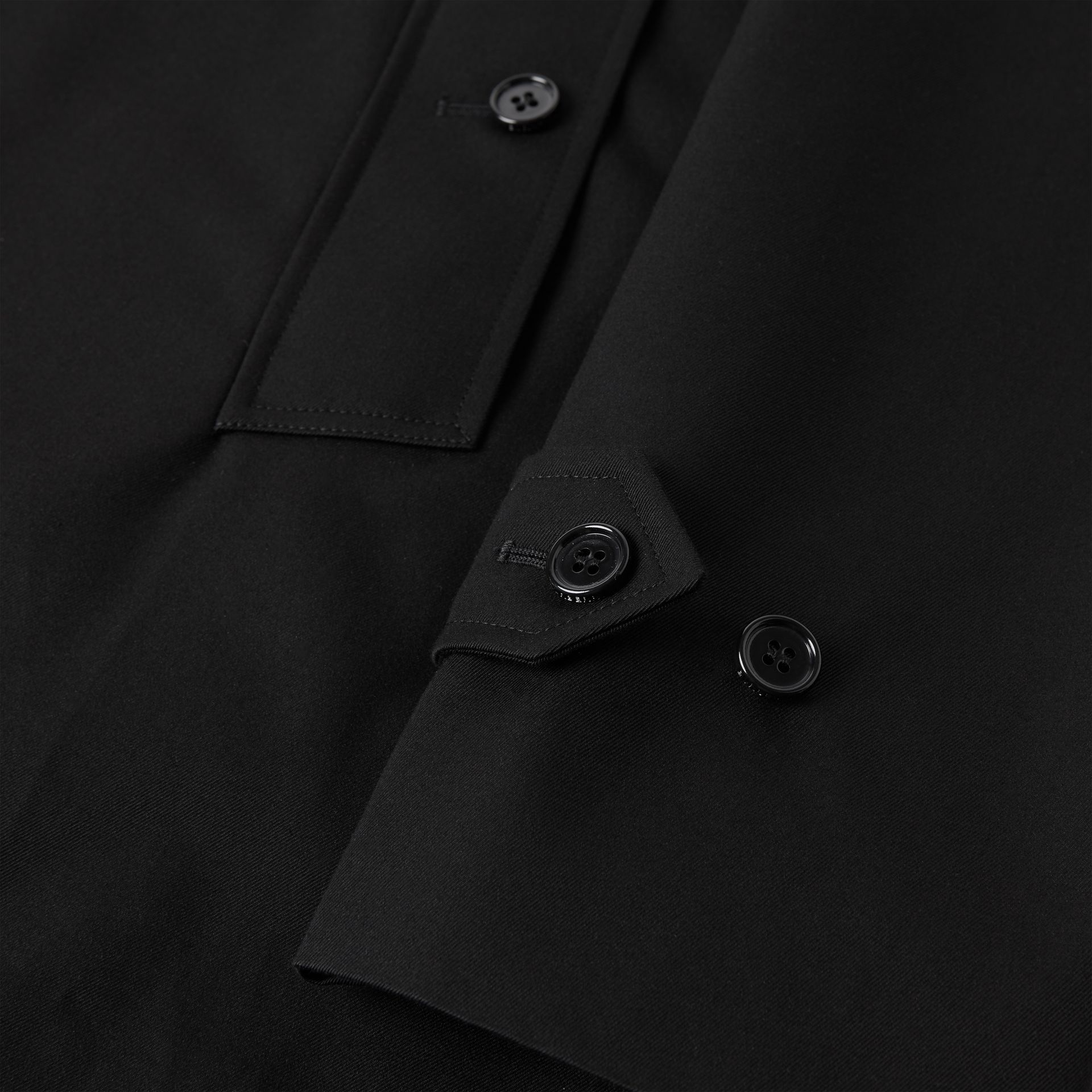 Cotton Gabardine Car Coat - Men | Burberry - gallery image 8