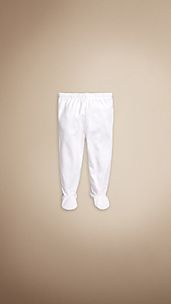 Ribbed Cotton Trousers