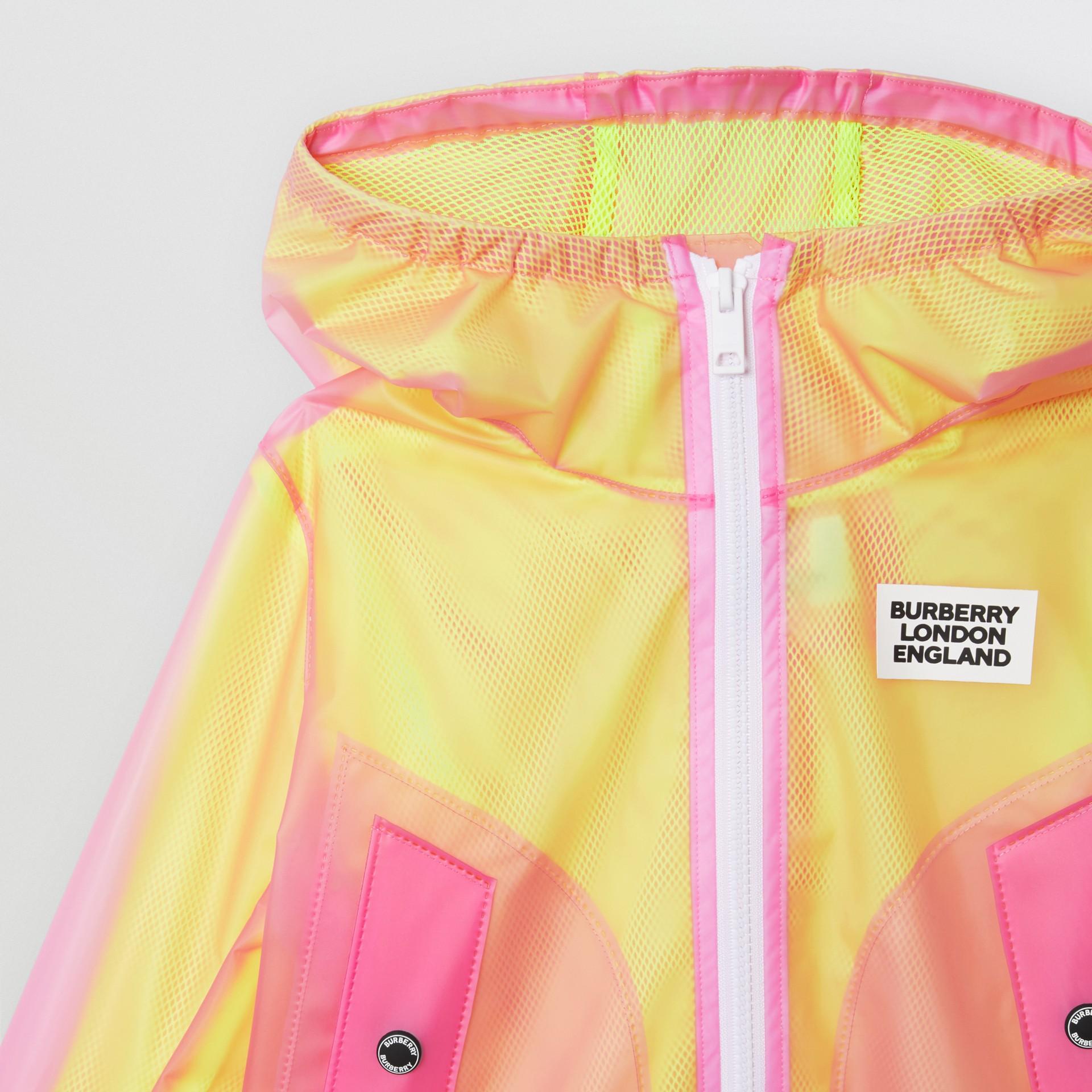 ロゴプリント ライトウェイト フーデッドジャケット (ラズベリーピンク)   バーバリー - ギャラリーイメージ 5
