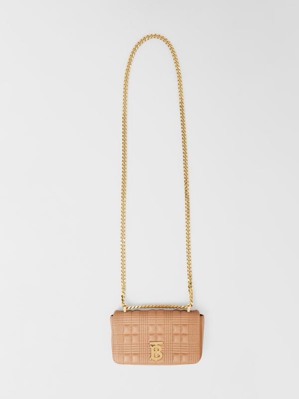 Mini Quilted Lambskin Lola Bag - Women | Burberry - cell image 3
