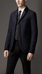 Waxed Cotton Quilted Jacket