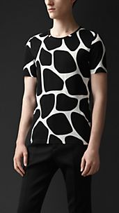 Abstract Animal T-shirt
