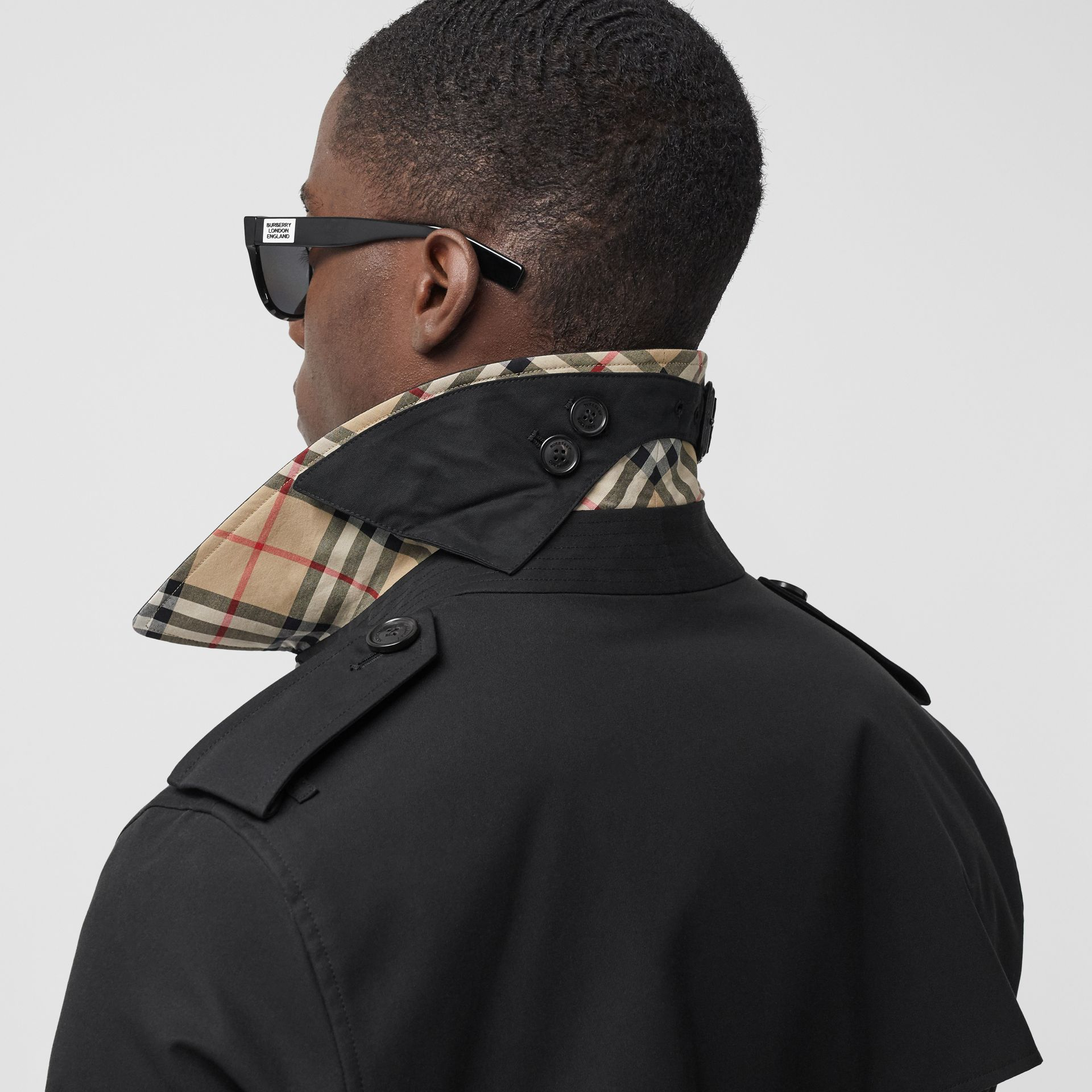 Trench The Wimbledon court (Noir) - Homme | Burberry - photo de la galerie 5