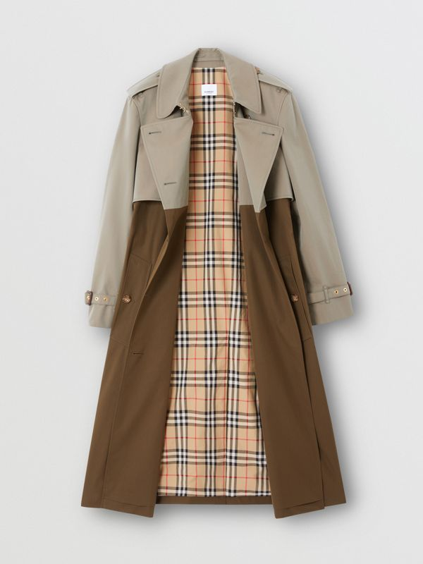 Two-tone Reconstructed Trench Coat - Women | Burberry - cell image 2