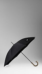 Bamboo Handle Walking Umbrella
