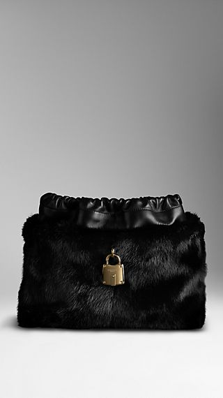 The Little Crush in Mink and Leather