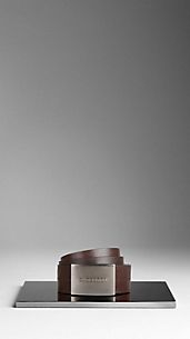 Leather Plaque Belt
