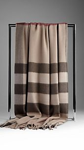 Cashmere Check Blanket