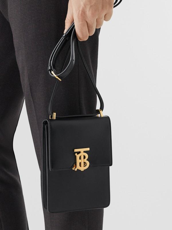 Leather Robin Bag in Black - Women | Burberry Australia - cell image 3