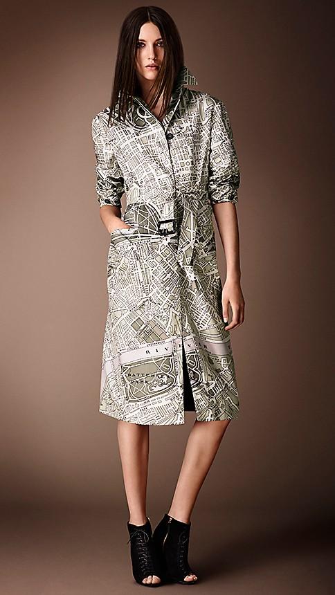 ロンドンマップ コート ファッション