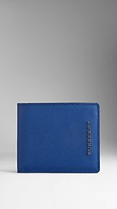 Colour Coated London Leather ID Wallet