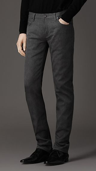 Steadman Yarn Dyed Slim Fit Jeans