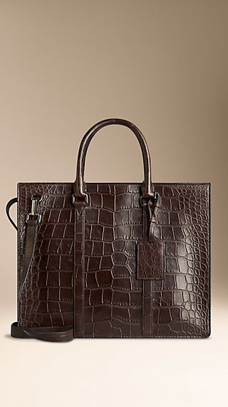 Alligator Leather Briefcase