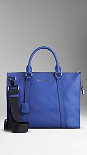 Colour Coated London Leather Soft Briefcase